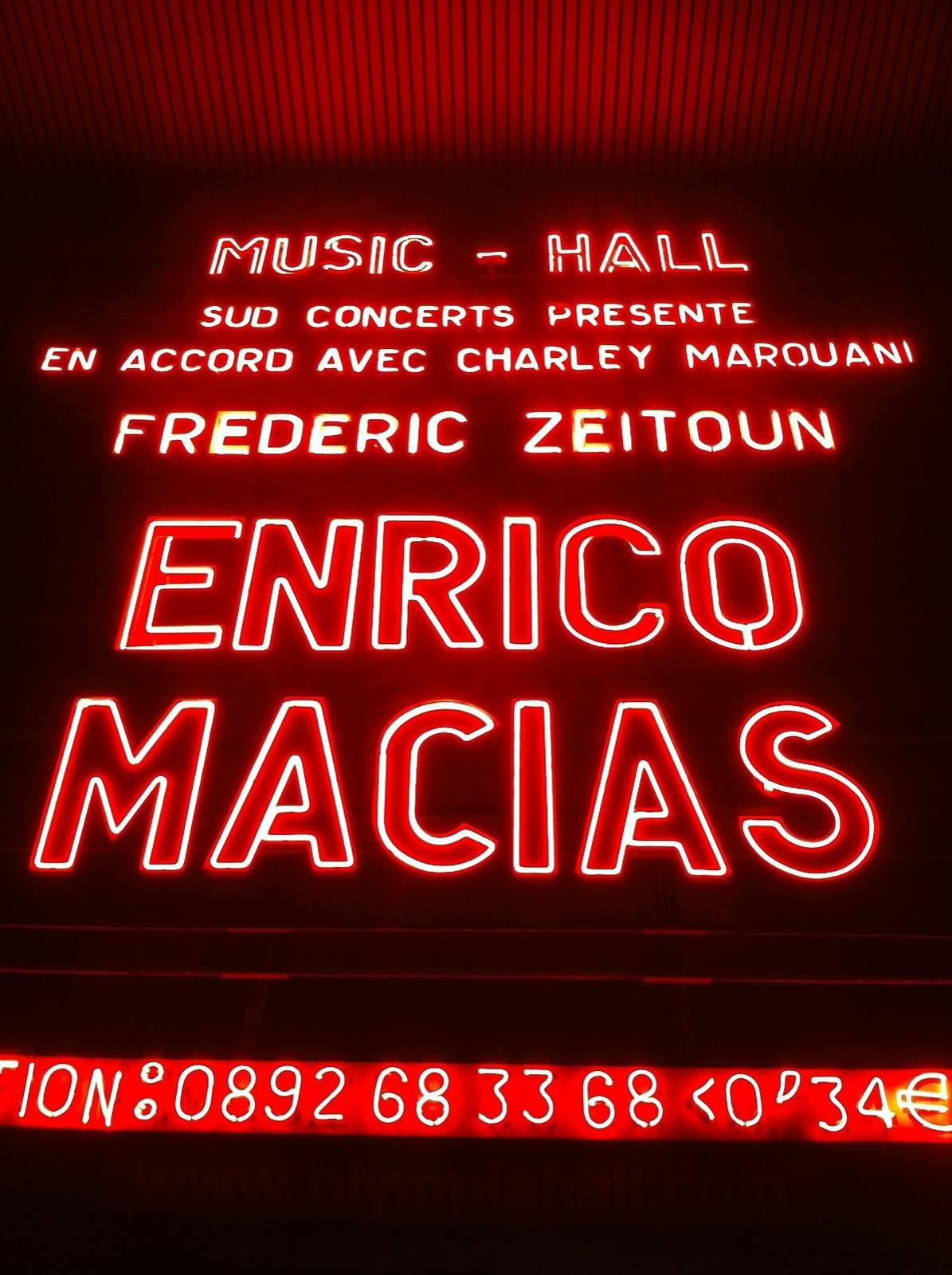 Concert Enrico Macias Fred Zeitoun