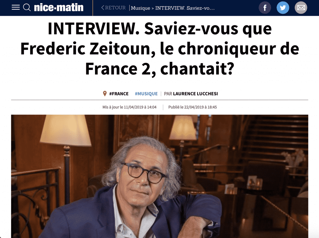 Interview Fred Zeitoun