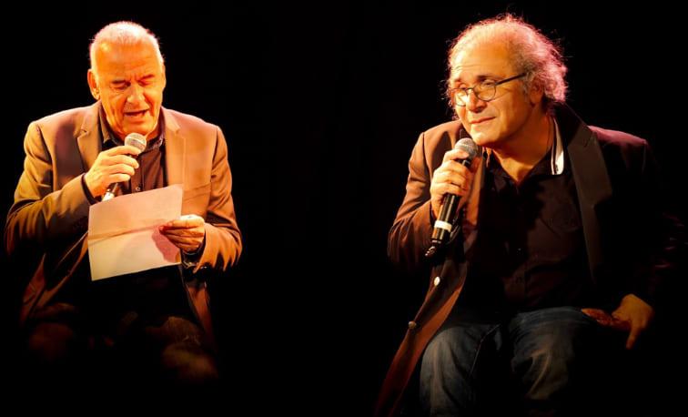 Frédéric Zeitoun sur scène